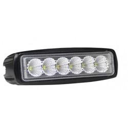 LED arbets och extraljus LEDlife 18W LED arbetsbelysning - Bil, lastbil, traktor, trailer, nödfordon, IP67 vattentät, 10-36V
