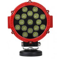 Strålkastare LEDlife 51W LED arbetsbelysning - Bil, lastbil, traktor, trailer, nödfordon, IP67 vattentät, 10-60V