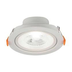 LED paneler V-Tac 7W LED spotlight - Hål: Ø7,5 cm, Mål: Ø9,1 cm, 4,6 cm hög, 230V