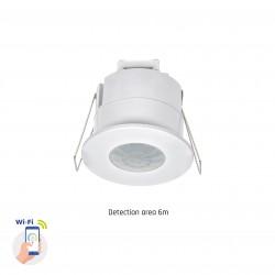 El-produkter Smart Home infälld sensor - PIR infraröd, 360 grader, 230V, IP20 inomhus