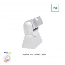 Smart Home väggsensor - PIR infraröd, 180 grader, 230V, IP65 utomhusbruk