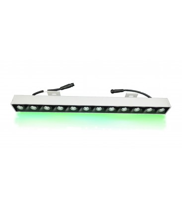 LEDlife 18W LED strålkastare - Grönt ljus,till jakt, 20° spridning, IP65 utomhus, 24V