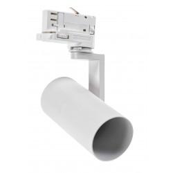 Takspotlights Vit skenaspotlight med GU10 sockel - Passa till V-Tac skenor, 3-fas, utan ljuskälla