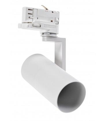 Vit skenaspotlight med GU10 sockel - Passa till V-Tac skenor, 3-fas, utan ljuskälla