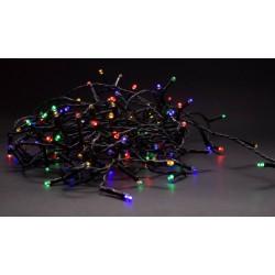 9 meter utomhus LED juleljusslinga - IP44, 230V, 120 LED, multicolor