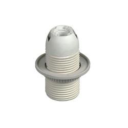 V-Tac E27 armatursockel med ring - Utan ledning
