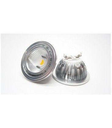 MANO5 LED spotlight - 5W, dimbar, varmvitt, 230V, G53 AR111