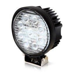 Strålkastare 27W LED arbetsbelysning - Bil, lastbil, traktor, trailer, nödfordon, kallvit, 12V / 24V