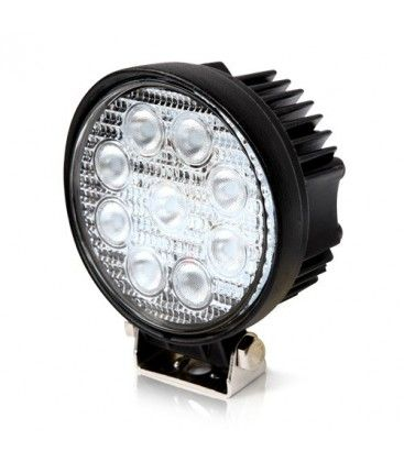 27W LED arbetsbelysning - Bil, lastbil, traktor, trailer, nödfordon, kallvit, 12V / 24V