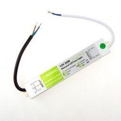 12V IP68 RGB 20W strömförsörjning - 12V DC, 1,6A, IP67 vattentät