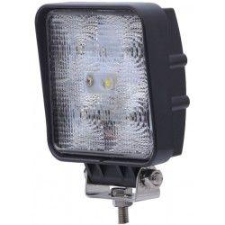 Strålkastare 15W LED arbetsbelysning - Bil, lastbil, traktor, trailer, nödfordon, kallvit, 12V / 24V