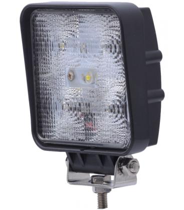15W LED arbetsbelysning - Bil, lastbil, traktor, trailer, nödfordon, kallvit, 12V / 24V