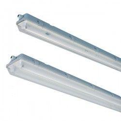 Utan LED - Lysrörsarmaturer Vento T8 LED armatur - Till 1x 60cm LED rör, IP65 vattentät