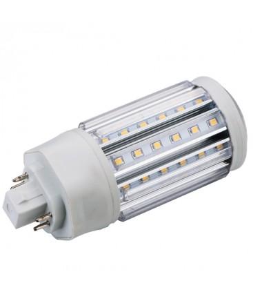 LEDlife GX24Q LED lampa - 11W, 360°, varmvitt, matt glas