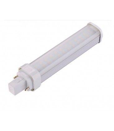 LEDlife G24D LED lampa - 11W, 120°, varmvitt, matt glas