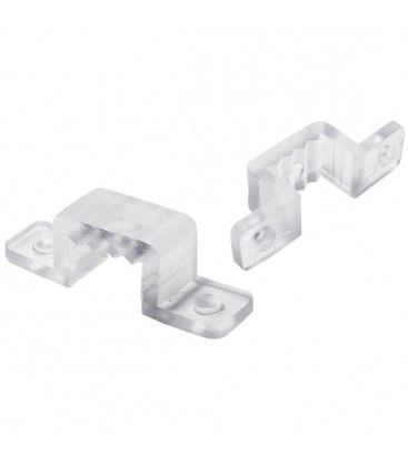20 st. breda monteringsklämmor - till Type X och Y och RGB 230V LED strips