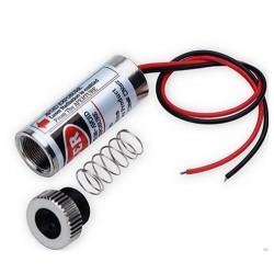 Laserpenna Röd linje laser pointer - 5mW, 3-6 Volt, säljs endast till yrken