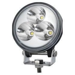Strålkastare 9W LED arbetsbelysning - Bil, lastbil, traktor, trailer, nödfordon, kallvit, 12V / 24V