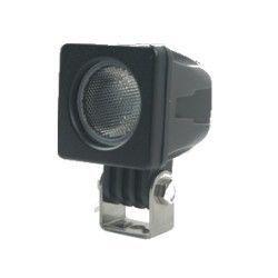 Strålkastare 10W LED arbetsbelysning - Bil, lastbil, traktor, trailer, nödfordon, kallvit, 12V / 24V