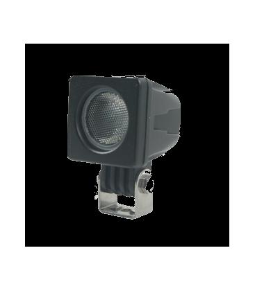 10W LED arbetsbelysning - Bil, lastbil, traktor, trailer, nödfordon, kallvit, 12V / 24V