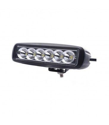 18W LED arbetsbelysning - Bil, lastbil, traktor, trailer, nödfordon, kallvit, 12V / 24V