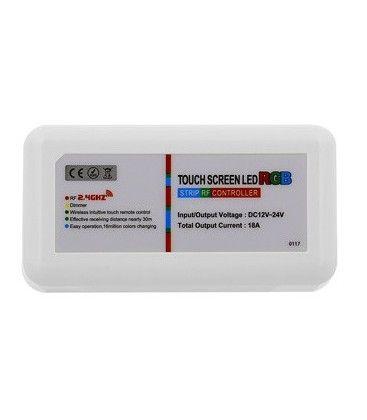 RGB kontroller utan fjärrkontroll - 12V (216W), 24V (432W), RF trådlöst