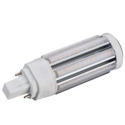LEDlife GX24Q LED lampa - 5W, 360°, varmvitt, matt glas