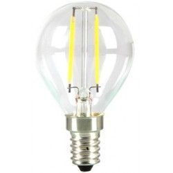 E14 LED LEDlife 2W LED lampa - Filament, P45, varmvitt, E14
