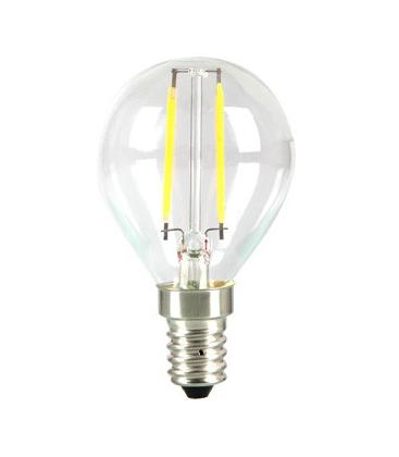 LEDlife 2W LED lampa - Filament, P45, varmvitt, E14