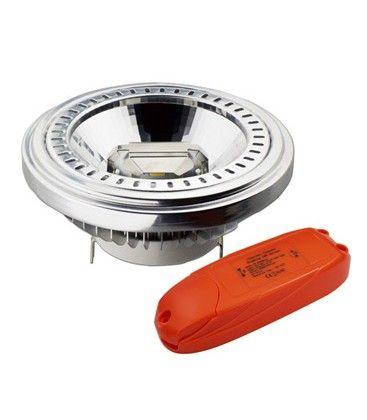 V-Tac LED spotlight - 15W, varmvitt, 230V, G53 AR111