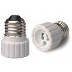 E27 LED E27 till GU10 adapter