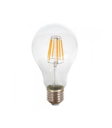 V-Tac 8W LED Lampa - Filament, A67, E27