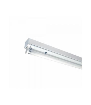V-Tac T8 LED grundaarmatur - Till 1x 120cm LED rör, IP20 inomhus