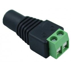 24V RGB DC honplugg - Med skruvanslutning, max 60W