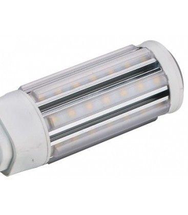 LEDlife GX24Q LED lampa - 11W, 360°, kort modell, varmvitt, matt glas