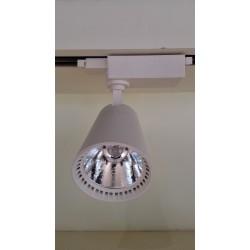 Takspotlights Spotlight på skena 15W - billig modell