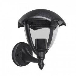 Vägglampor V-Tac svart vägglampa - IP44 utomhusbruk, E27 sockel, utan ljuskälla