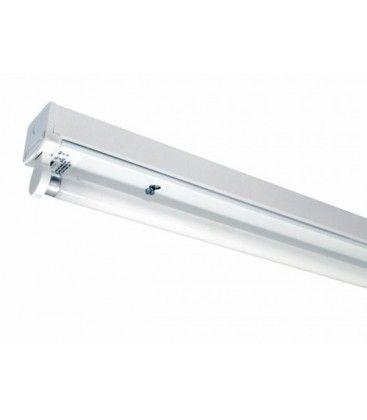 V-Tac T8 LED grundaarmatur - Till 1x 150cm LED rör, IP20 inomhus