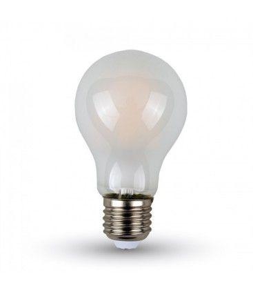 V-Tac 4W LED lampa - Filament, matteret, A60, E27