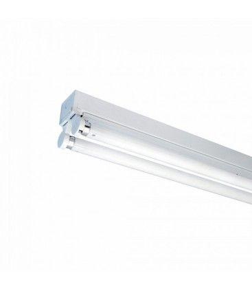 V-Tac T8 LED grundaarmatur - Till 2x 60cm LED rör, IP20 inomhus