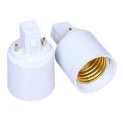 G23 LED G23 till E27 adapter