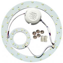 2D kompakt Rör 23W LED insats - Ø25,1 cm, ersätta cirkelrör och kompaktrör