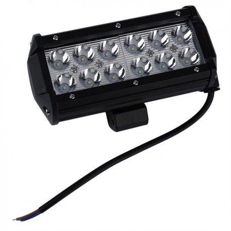 36W LED arbetsbelysning - Bil, lastbil, traktor, trailer, nödfordon, kallvit, 12V / 24V
