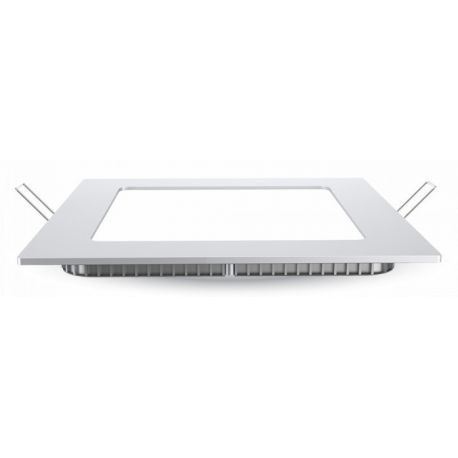 V-Tac 6W LED downlight - Hål: 10,5 x 10,5 cm, Mål: 12 x 12 cm, 230V