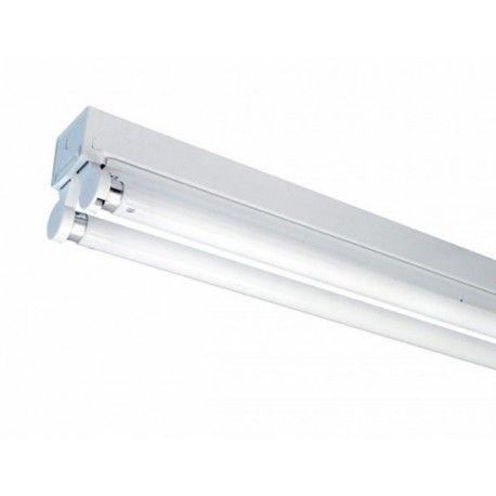 V-Tac T8 LED grundaarmatur - Till 2x 120 cm LED rör, IP20 inomhus