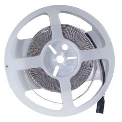 12V V-Tac 18W/m LED strip hög lumen - 5m, IP20, 240LED