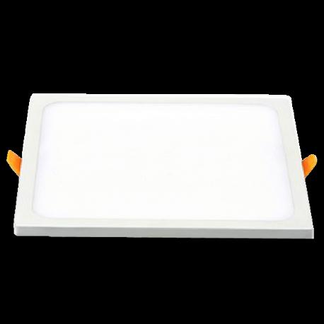 V-Tac 15W LED downlight - Hål: 13,5 x 13,5 cm, Mål: 14,5 x 14,5 cm, 230V