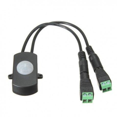 PIR Sensor till LED strip - 12V (60W), 24V (120W), med skruvklämmor