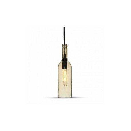 V-Tac flaska pendellampa - Transparent, E14