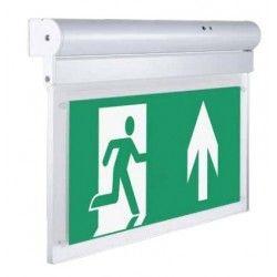 LED Exit skylt V-Tac vägg- eller takmonterad LED EXIT skylt - 2W, Samsung LED chip, 140 lumen